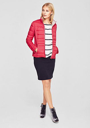 Lightweight down jacket with a stand-up collar from s.Oliver