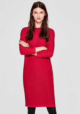 Lässiges Kleid aus Rippstrick