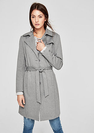 Double-faced coat in a trench coat look from s.Oliver