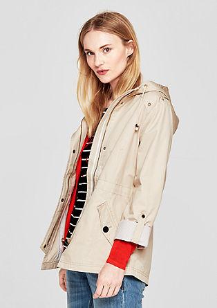 Leichte Jacke im maritimen Look