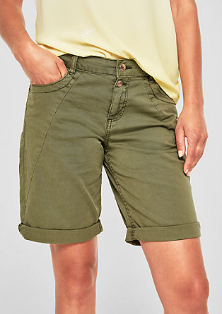 Smart Bermuda: twill shorts from s.Oliver