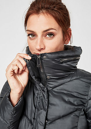 Steppjacke in Light Down-Optik