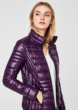Lightweight quilted jacket with sheen from s.Oliver
