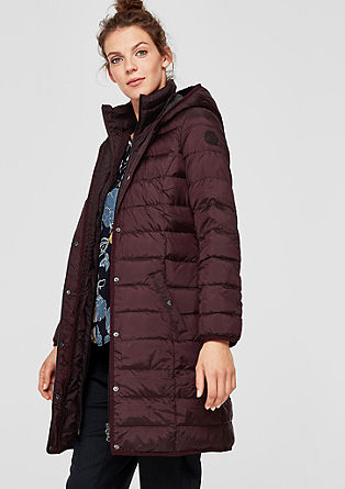 Lightweight down coat with contrast details from s.Oliver
