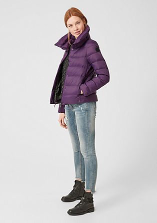 Puffer jacket with down and feathers from s.Oliver