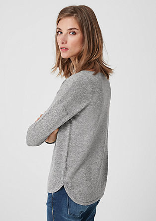 Jumper made of wool and cashmere from s.Oliver