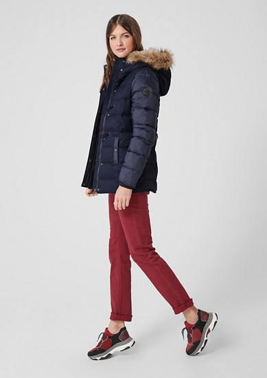 Down jacket with toggles from s.Oliver