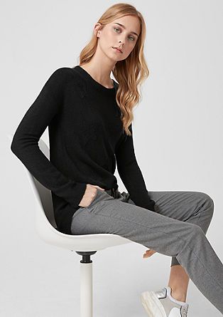 Pullover mit Seasons-Deko