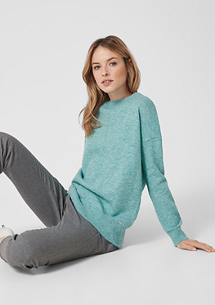 Jumper with textured lines from s.Oliver