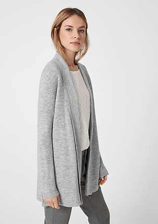 Cardigan with a ribbed texture from s.Oliver