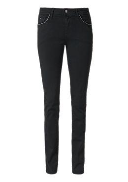 Smart Straight  Schwarze Jeans kaufen   s.Oliver Shop 4f875fd2ac