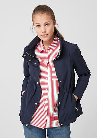 Lightweight jacket with a stand-up collar from s.Oliver