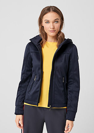 Outdoor-Jacke aus Softshell