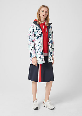 a391223c18b2 Coat with a floral pattern from s.Oliver