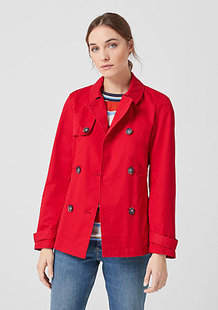 Jacke im Trenchcoat-Stil