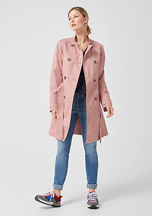 Double-breasted trench coat from s.Oliver