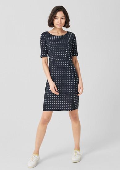 Jerseykleid mit Alloverprint