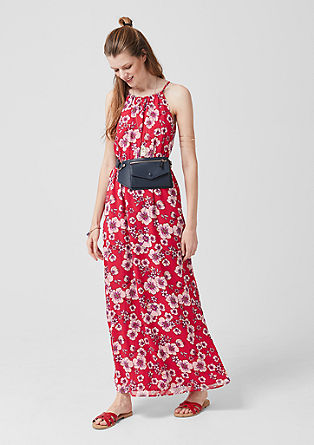 Chiffon dress with a printed pattern from s.Oliver