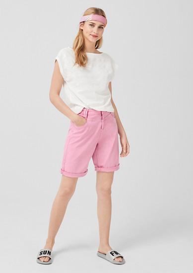 Smart Bermuda: pantalon en twill de s.Oliver