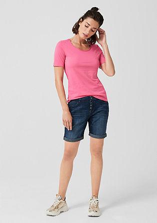 Smart Short: Jeans mit Knopfleiste