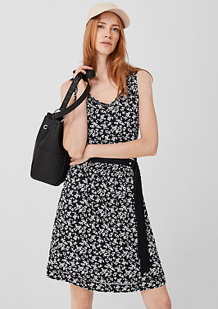 b24356d6 Jersey dress with an all-over print from s.Oliver