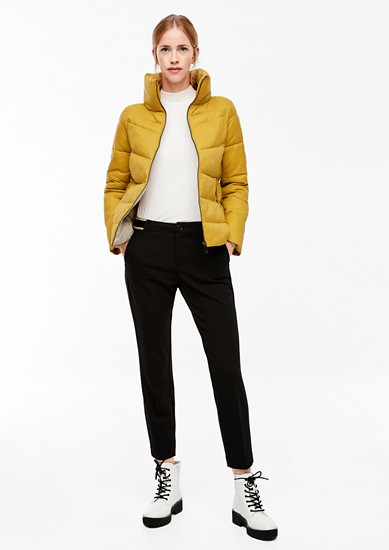 Puffer jacket with a stand-up collar from s.Oliver