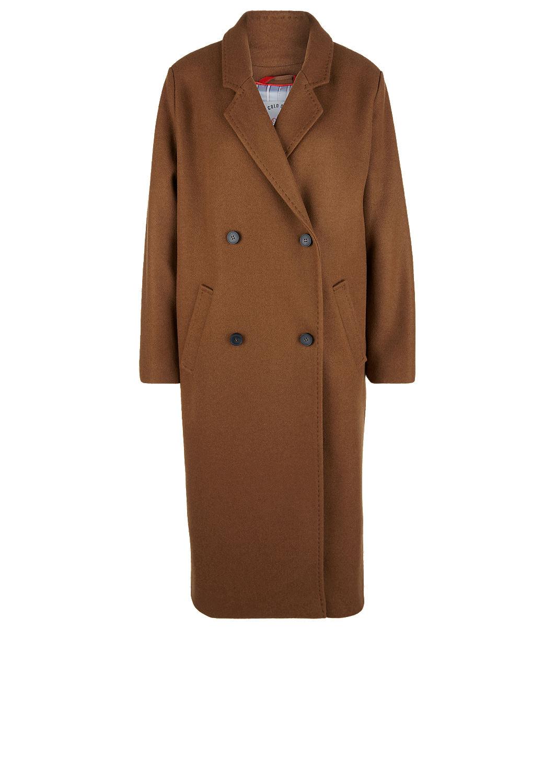 Doppelreihiger Mantel in Woll Optik kaufen   s.Oliver Shop