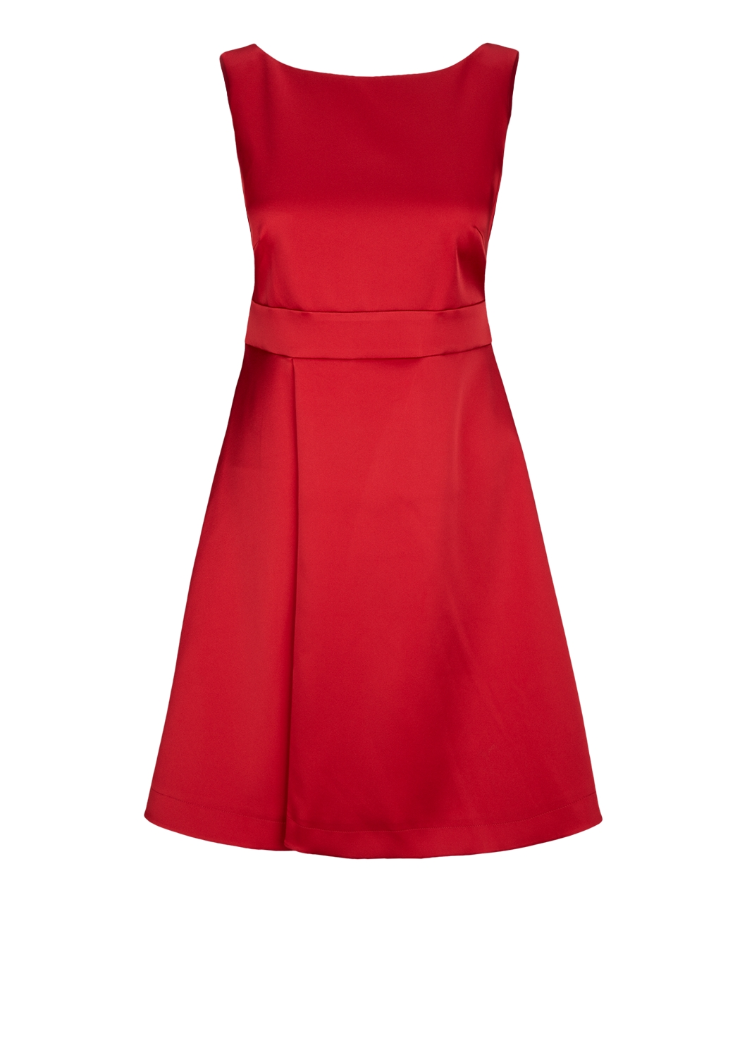 S oliver chiffon kleid rot
