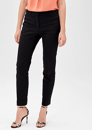 Slim: stretch business trousers from s.Oliver