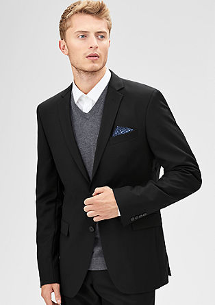Regular: Jacket in new wool from s.Oliver