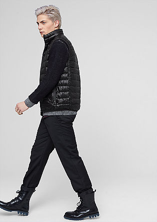 Lightweight body warmer from s.Oliver