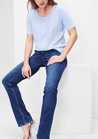 Smart Straight: classic stretch jeans from s.Oliver