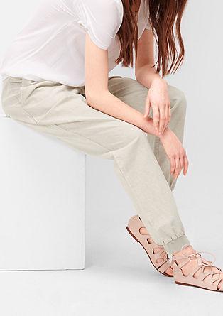 Smart Chino:hlače iz lanene mešanice