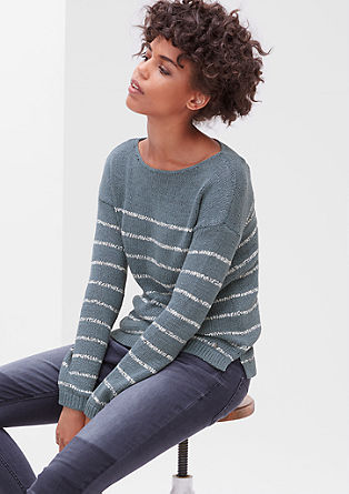 Jumper with horizontal stripes from s.Oliver