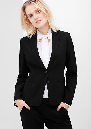 Stretch blazer in a classic look from s.Oliver