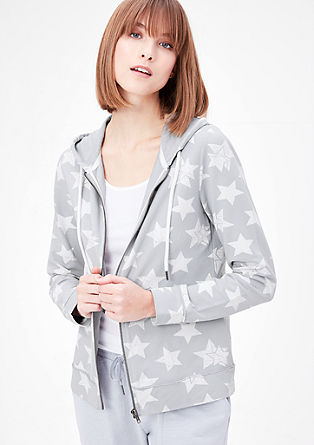 Loungewear sweatshirt with stars from s.Oliver