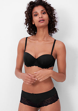 Balcony bra with lace from s.Oliver