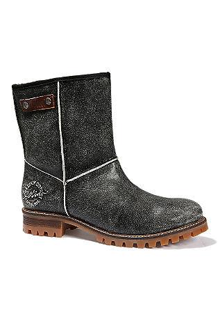 Boots mit markanter Sohle