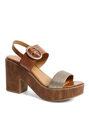 Elegantne sandalete s platformo