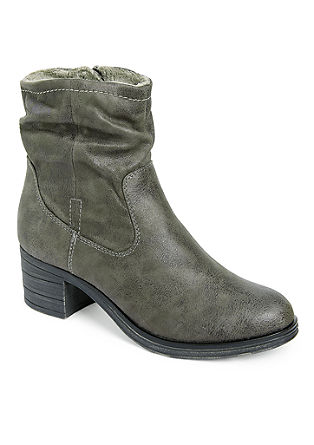 Booties met cowboy look