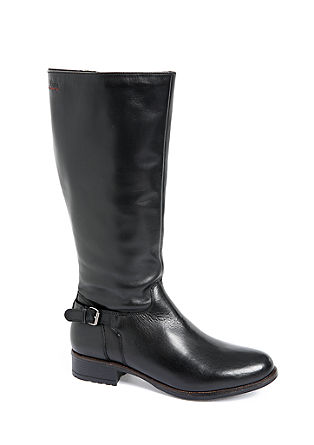 Stiefel aus Glattleder