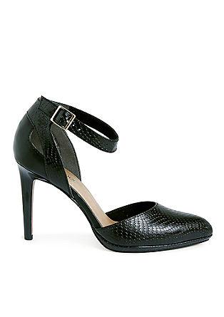 High heels met een enkelbandje