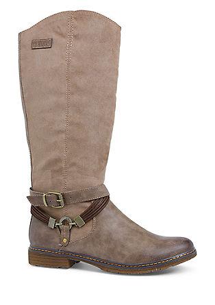 Laarzen van een materiaalmix