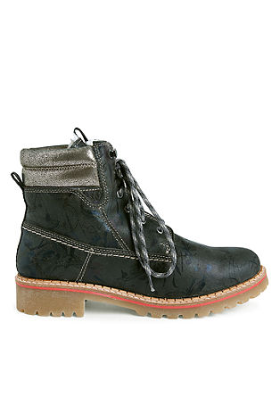 Leder-Boots im Hiker-Look