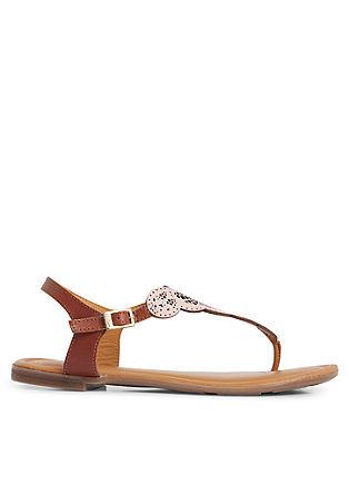 Ethno-Sandalen aus Leder