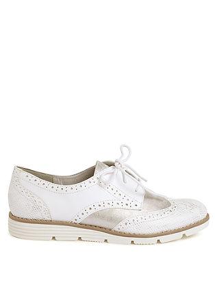Loafers in brogue-stijl met een matglanzend effect