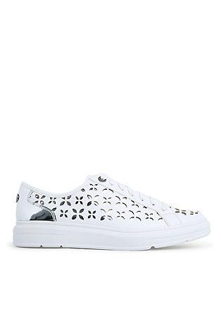 Sneakers mit Blumen-Muster