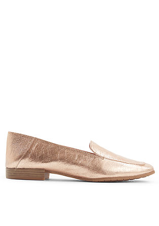Elegante Metallic-Slipper