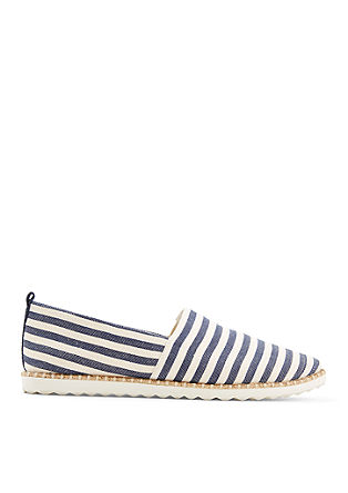 Sommerliche Canvas-Slipper