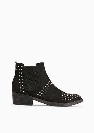 Chelsea boots met studs